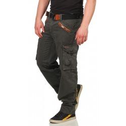 Men´s Cargo Trousers Pierce Grey