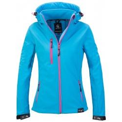 Womens Softshell Jacket Vivian Turquoise