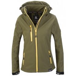 Womens Softshell Jacket Vivian Green