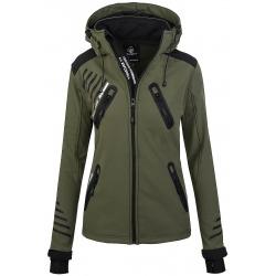 Womens Softshell Jacket Amelia Green