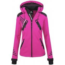 Womens Softshell Jacket Amelia Pink