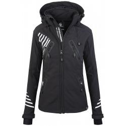 Womens Softshell Jacket Amelia Black
