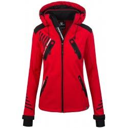 Womens Softshell Jacket Amelia Red