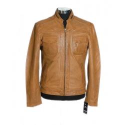 Men´s Leather Jacket Aron Dark Brown