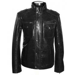 Men´s Leather Jacket Alexander Black