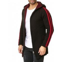 Men´s Knitted Jacket Rick Black