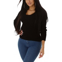 Womens Cardigan Alycia Black