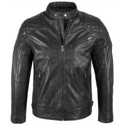 Men´s Leather Jacket Soren Black