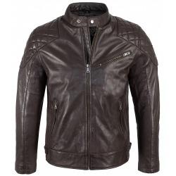 Men´s Leather Jacket Soren Brown