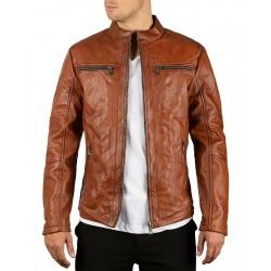 Men´s Leather Jacket Simeon Brown