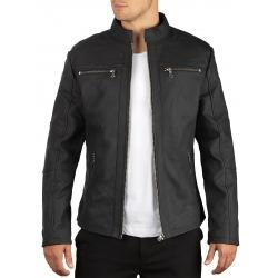 Men´s Leather Jacket Simeon Grey