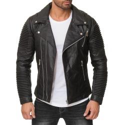 Men´s Leather Jacket Lars Black