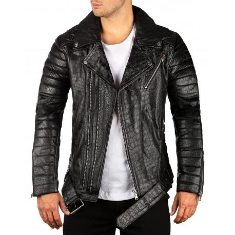Men´s Leather Jacket Ronan Black