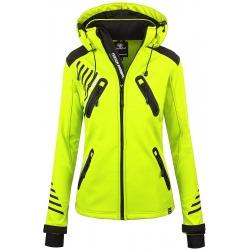 Womens Softshell Jacket Amelia Yellow