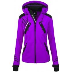 Womens Softshell Jacket Amelia Violet