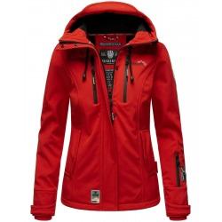 Womens Softshell Jacket Gabriela Red