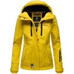 Womens Softshell Jacket Gabriela Yellow