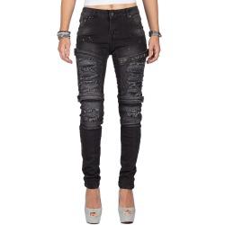 Womens Jeans Eve Black