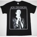 Unisex Tshirt JOY DIVISION / IAN CURTIS Black