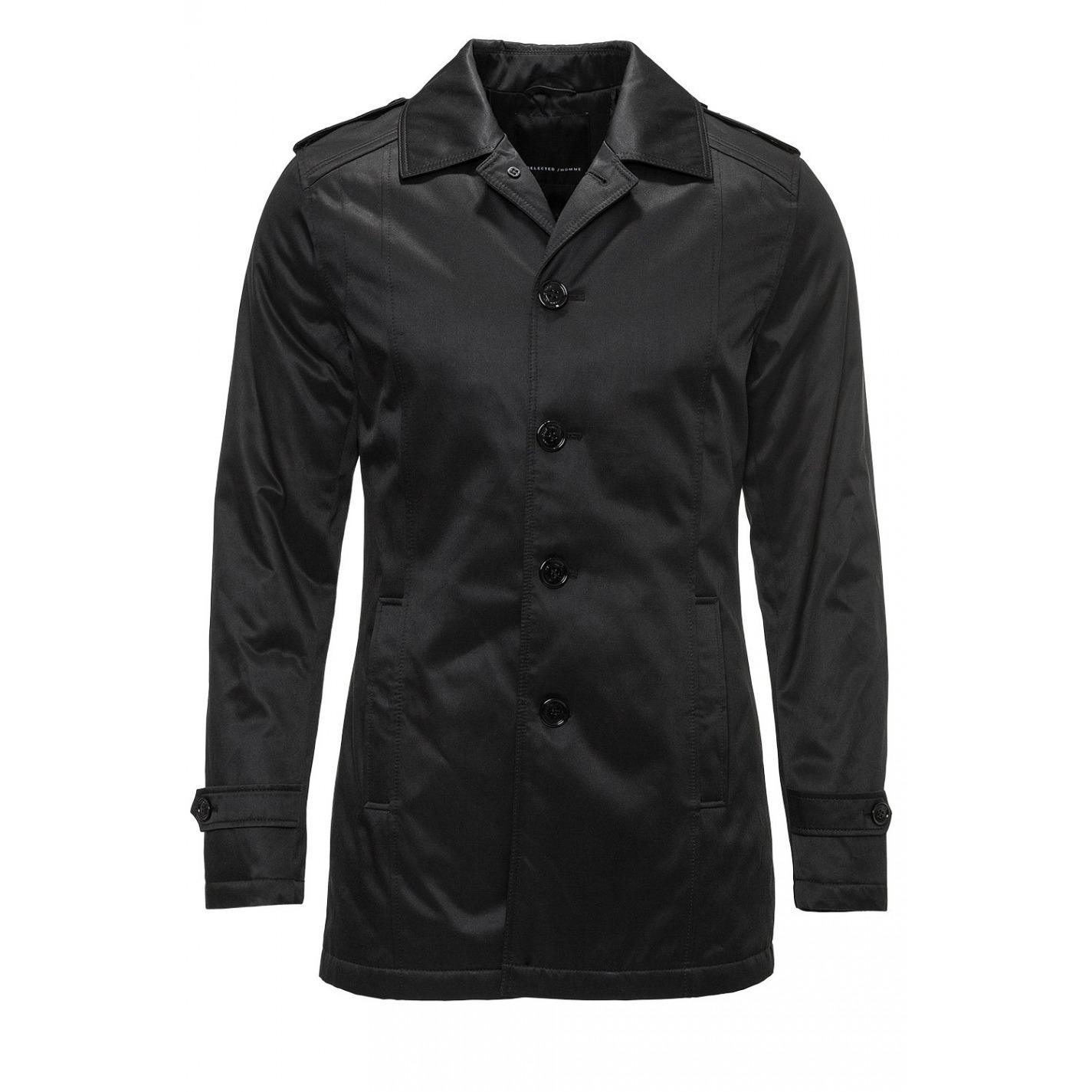 Pánsky Čierny Kabát Darcy. Loading zoom f30762d71eb
