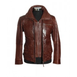 Men´s Leather Jacket Perfecto Brown