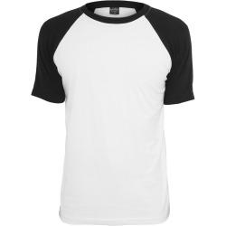 Mens T-shirt Asher White / Black