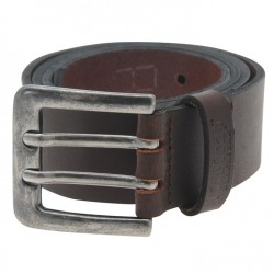 Leather Belt Double Brown
