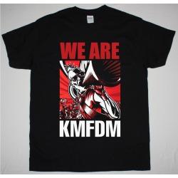 Unisex T Shirt KMFDM Black/Red