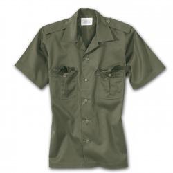 Men´s Short Sleeved Shirt Arnold Olive
