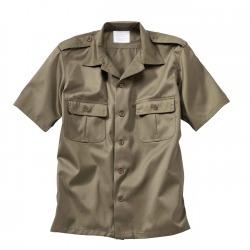 Men´s Short Sleeved Shirt Simian Olive