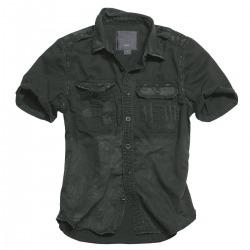 Mens Short sleeved Shirt Alain Black