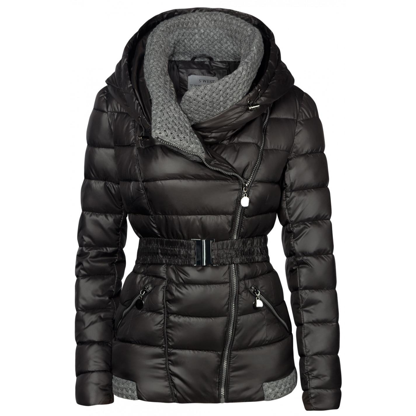 Dámska Zimná Bunda Giselle Čierna - Babylonia 850f5b76ba6