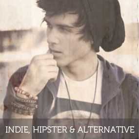 Men´s Indie, Hipster & Alternative Clothing and Accessories